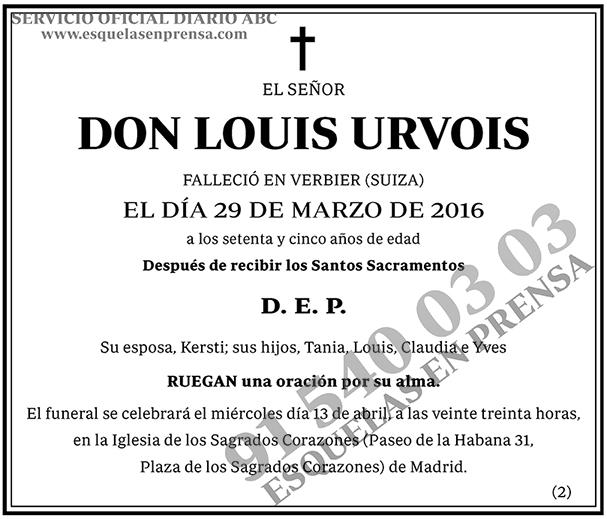 Louis Urvois